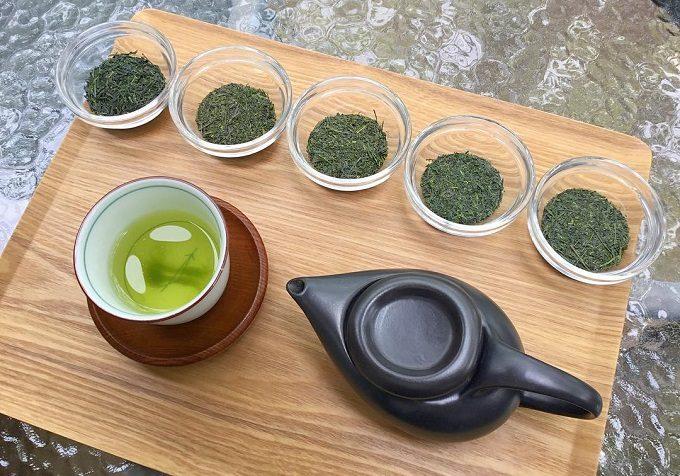 「日本茶喫茶 茶縁(ちゃえん)」で振舞われる日本茶