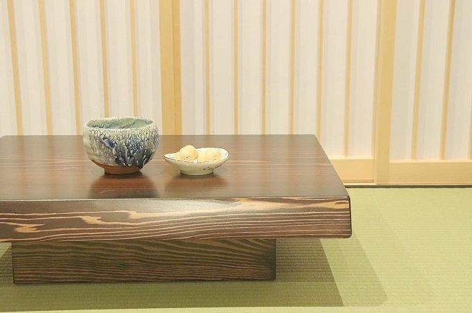 「日本茶喫茶 茶縁(ちゃえん)」に新たに作られたお茶室