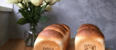 「新潟地粉パンの店 cosa」のグルテン控えめのパン、「ガンジー牛乳のみるくパン」