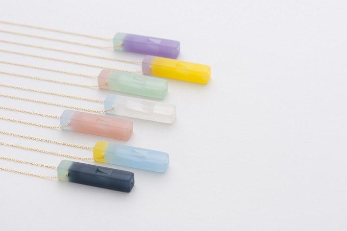 おしゃれな防災用の笛、災害時に使えるネックレス「effe」の「candy」シリーズ