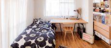 ワンルームも家具で仕切れば快適に。一人暮らしのお部屋実例