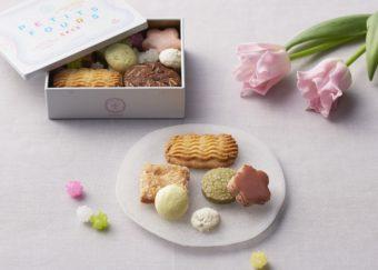 春らしい彩りとかわいらしさに、みんなが笑顔に。「HIBIKA」のミニ缶入りクッキー