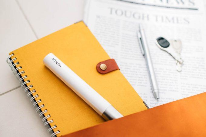 口臭ケアにおすすめ、携帯用の電動歯ブラシ「IONPA(イオンパ)」2