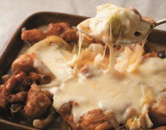 材料をカットし、調味料をからめてレンジに入れるだけ!簡単「チーズタッカルビ」レシピ