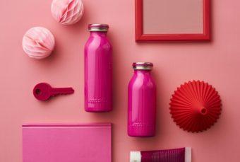 軽くなってより持ち歩きやすく。新色もかわいい「mosh!」の牛乳瓶型ステンレスボトル