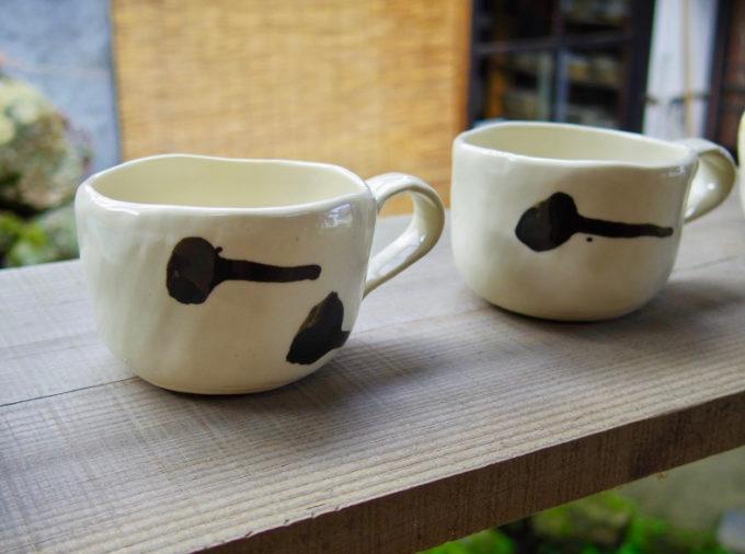 窯元「大屋窯」の萩焼のマグカップ