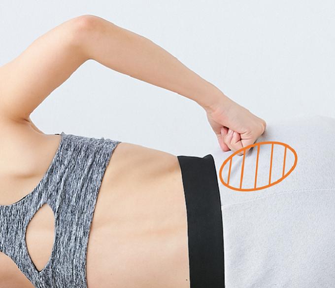 脂肪をつきにくくする腰のほぐし方手順3