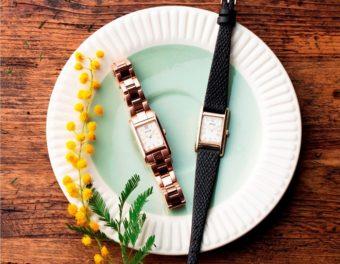 クラシカルでどんなコーディネートも上品に。「SPICA」の新作腕時計「スクエアソーラー」