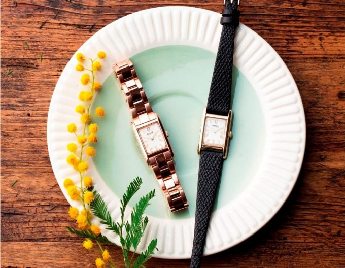 「SPICA」の新作腕時計「スクエアソーラー」1