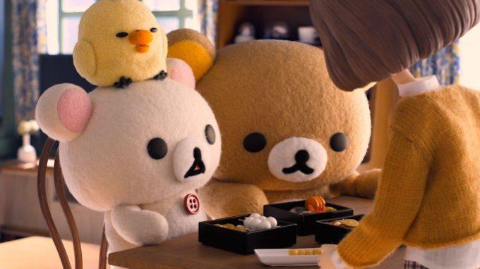 Netflixのオリジナルシリーズ『リラックマとカオルさん』のワンシーン3