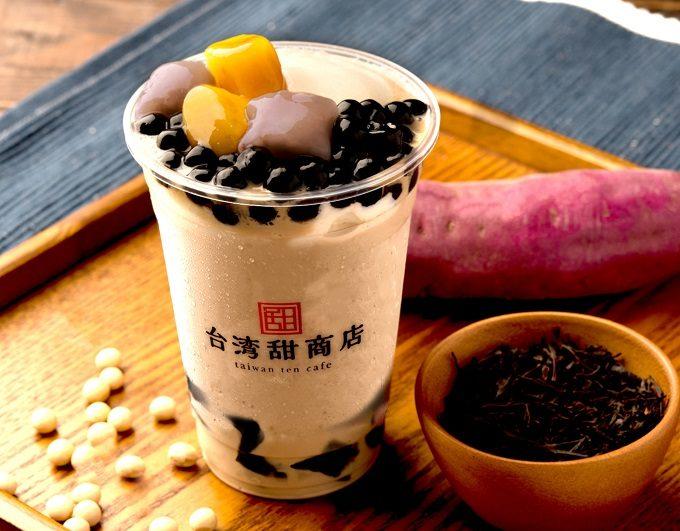台湾スイーツが楽しめる「台湾甜商店」のおすすめメニュー、タピオカスムージー