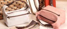 荷物をたっぷり入れても身体に寄り添う。独特のフォルムが使いやすい「UPLA」のバッグ