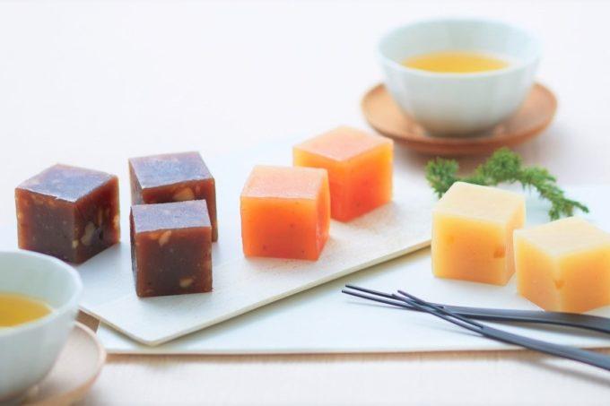 お茶菓子、おつまみにおすすめの「ドルチェようかんワイキューブ」2