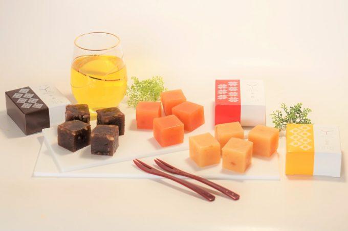 お茶菓子、おつまみにおすすめの「ドルチェようかんワイキューブ」3