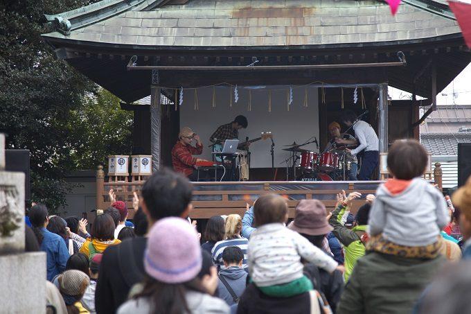 結城市の音楽フェス「結いのおと」、会場風景3