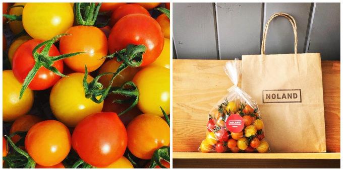 千葉県栄町にあるトマト農家の直売所「NOLAND(ノランド)」のミニトマト