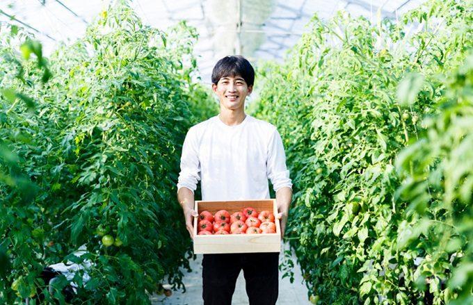 千葉県栄町にあるトマト農家の直売所「NOLAND(ノランド)」の小川さん