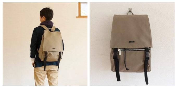 シンプルで機能性も抜群な「須田帆布」のリュック「スタンダード・Dパック」
