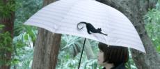 雨の日に、愛らしい動物たちが大活躍。新たな視点から生まれた「Tail」の傘