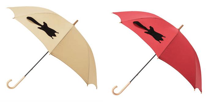 大人女子におすすめ、「Tail」の傘、モモンガ