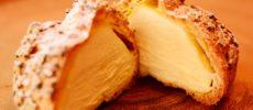 ヤギミルクを使った洋菓子専門店「PATISSERIE LAIT DE CHEVRE(パティスリー レ・ド・シェーブル)」のシュークリーム