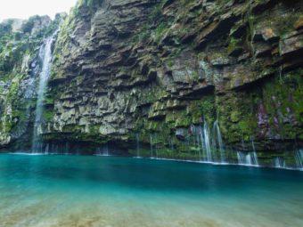 鹿児島・大隅半島にある秘境&パワースポット「雄川の滝」のそばにコンテナカフェが誕生!