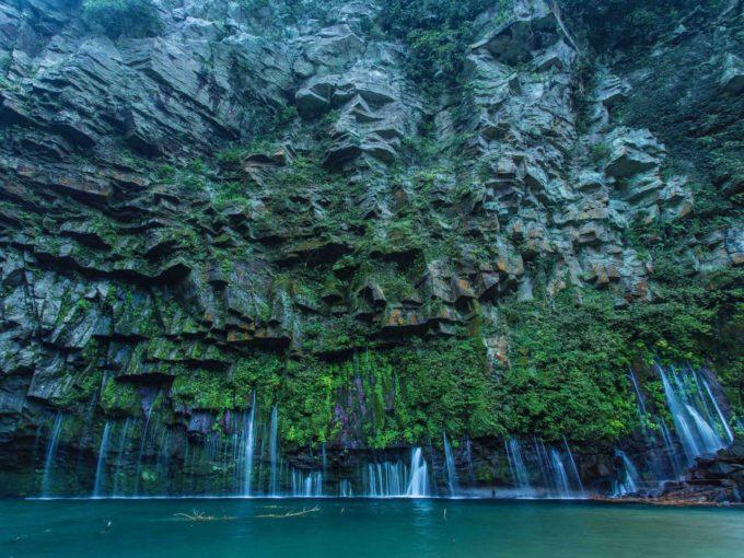 鹿児島県南大隅町のパワースポットが「雄川の滝」3