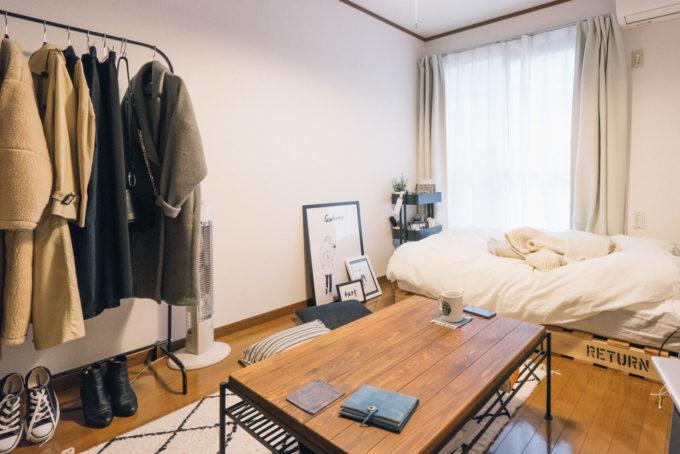 広く見えるワンルーム・1Kのお部屋実例3
