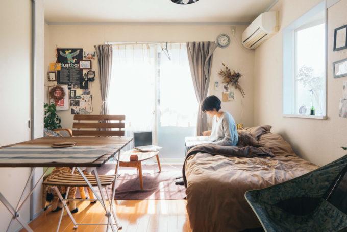 広く見えるワンルーム・1Kのお部屋実例5