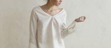 ルームウェアにおすすめのリネンのプルオーバーシャツが「GRAND FOND BLANC(グラン フォン ブラン)」1