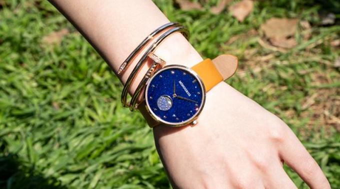 「monogriis(モノグリース)」の腕時計「jaybee line」着用例