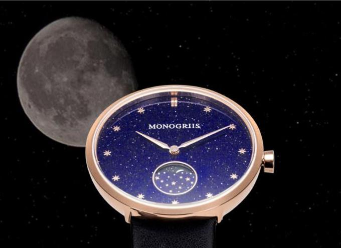 「monogriis(モノグリース)」の腕時計「jaybee line」の文字盤