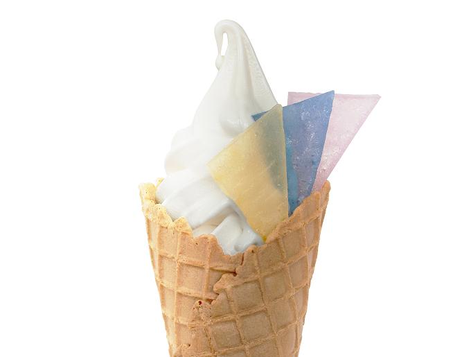 「長崎南山手プリン」のソフトクリーム