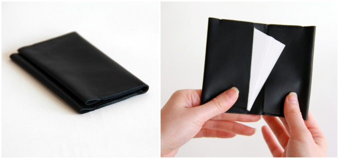 「ENVELOPE」のシンプルで使いやすい革小物、名刺入れ「CARD CASE」