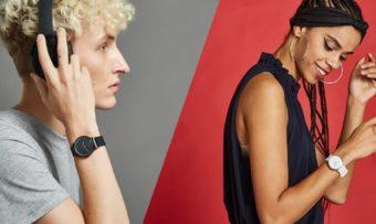 スマートウォッチデビューにおすすめ。ファッションに合わせやすいシンプル&機能的な腕時計