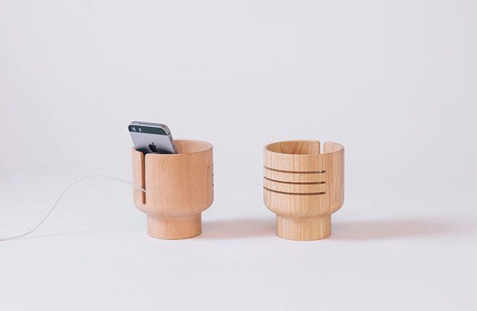 アトリエヨクトの電源不要のスピーカー「Wood Speaker」