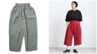 大人女性にぴったりな短め丈パンツで、おしゃれで快適な夏コーデを楽しんで