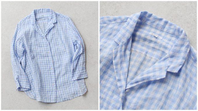 オフィスにもおすすめの「OLDMANS TAILOR オールドマンズテーラー」の襟付きシャツ