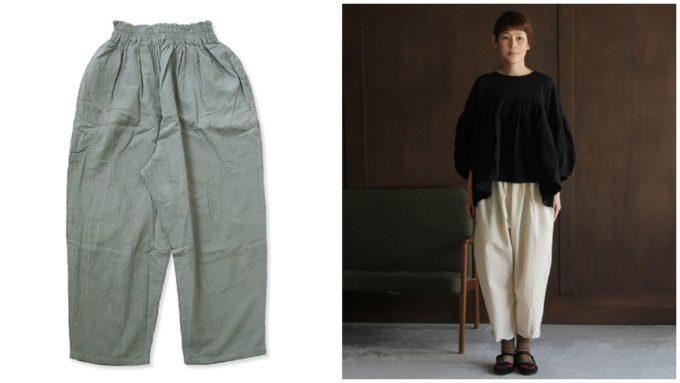 夏にぴったりな「CLASKA クラスカ」の短め丈パンツ