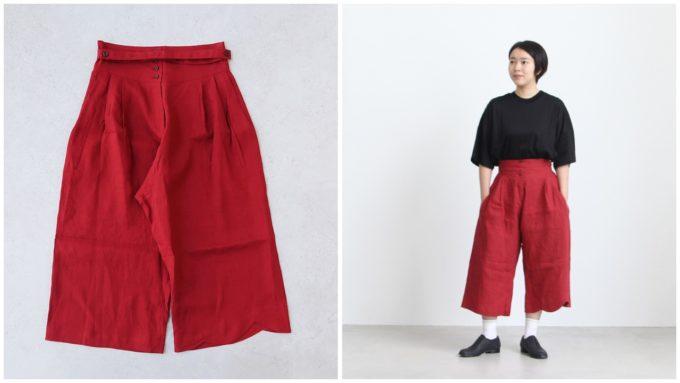 夏にぴったりな「YAB-YUM ヤブヤム」の短め丈パンツ