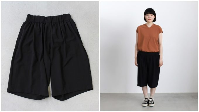 夏にぴったりな短め丈パンツ