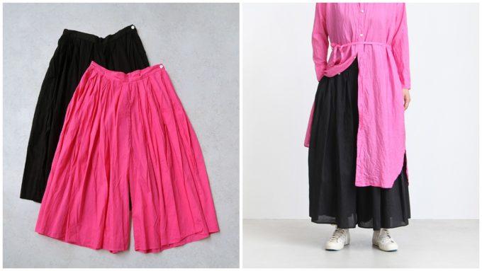 夏にぴったりな「OLDMANS TAILOR オールドマンズテーラー」の短め丈パンツ