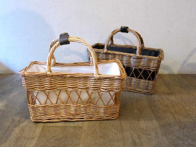 ファッションにもインテリアにも使える、かご専門店「menui」のかごバッグ3