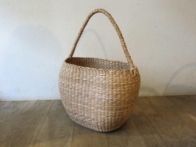 ファッションにもインテリアにも使える、かご専門店「menui」のかごバッグ4