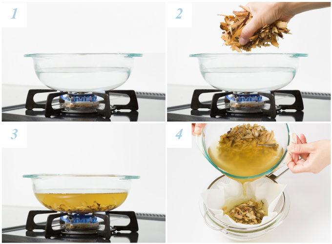 出汁を取るひと手間でもっと美味しく!旨味が染み出す「厚揚げと大根の煮物」