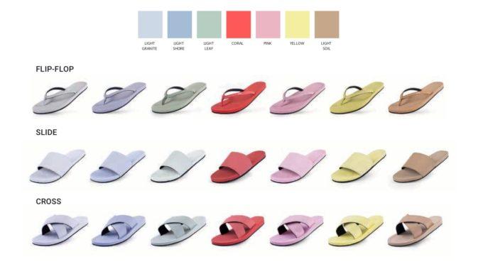 夏ファッションにおすすめ、廃棄されたタイヤから生まれた「indosole」のサンダルのカラーバリエーション2