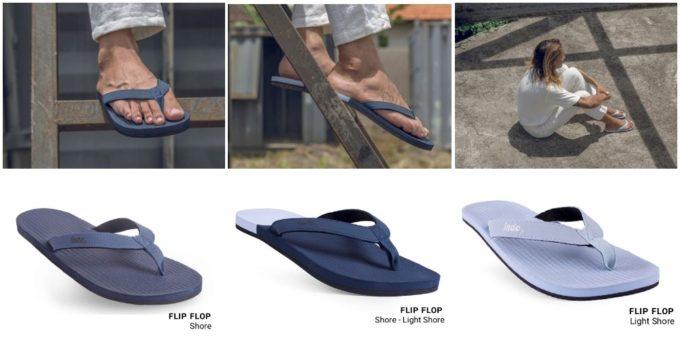 夏ファッションにおすすめ、廃棄されたタイヤから生まれた「indosole」のサンダルのカラーバリエーション1