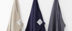 吸水性&肌触りに優れた「SHINTO TOWEL」のふんわりタオル