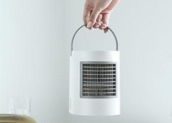 電気代はたったの1円。必要な機能だけを詰め込んだコンパクト冷風扇「SY-107」