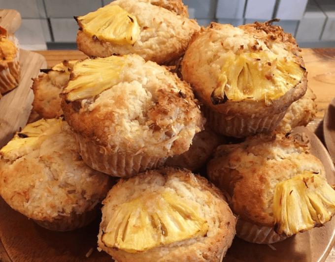 沖縄県産の食材を使ったベイクショップ「TOUCA BAKE SHOP」のマフィン